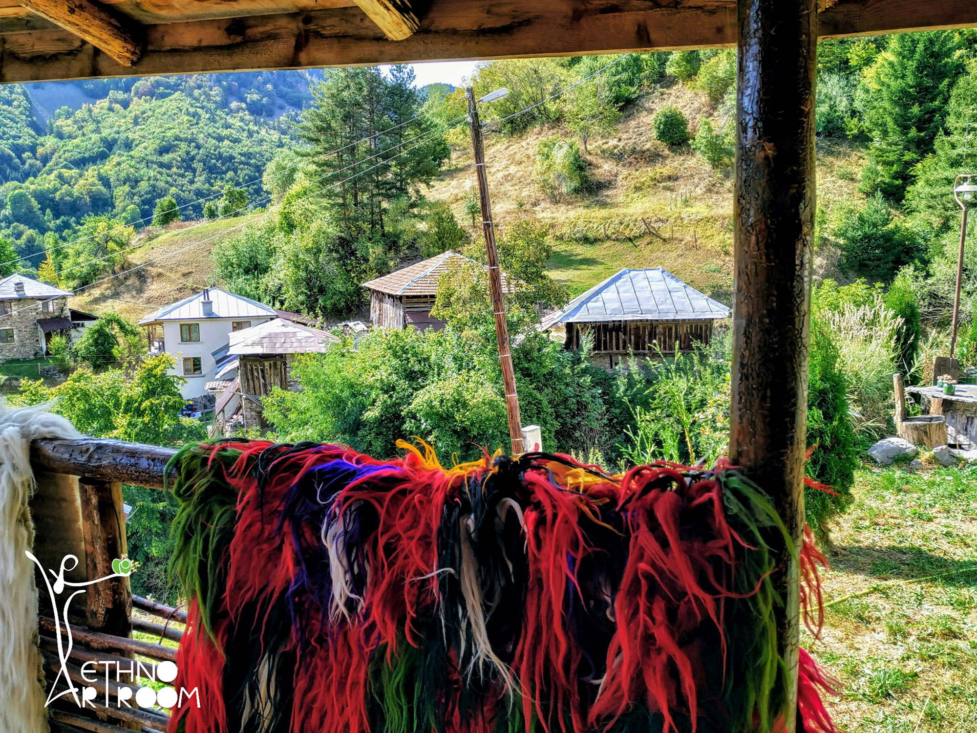 ethno art room mountain Bulgaria